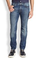 J. Lindeberg Jay Deep Bleach Denim Jeans - Lyst