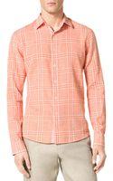 Michael Kors Check Shirt - Lyst