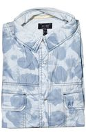 Armani Jeans Shirt Short Sleeve Print - Lyst