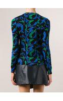 Kenzo Feather Print Sweater - Lyst