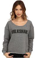 Stylestalker Milkshake Crop Sweatshirt - Lyst