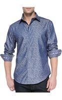 Robert Graham Massimo Tailoredfit Sport Shirt - Lyst