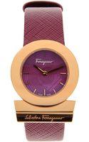 Ferragamo Wrist Watch - Lyst