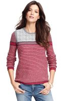 Tommy Hilfiger Intarsia Fair Isle Sweater - Lyst