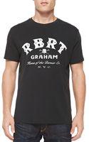 Robert Graham Logo Printed Tee Shirt - Lyst