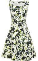 Oscar de la Renta Sleeveless Full Pleated Dress - Lyst
