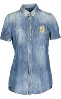 DSquared2 Denim Shirt - Lyst