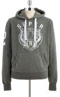 Superdry Hooded Sweatshirt - Lyst