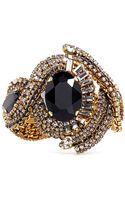 Aerin Erickson Beamon Crystal Embellished Braid Bracelet - Lyst
