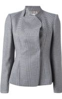 Armani Checked Blazer - Lyst