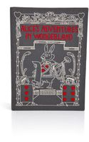 Olympia Le-Tan Handcrafted Alices Adventures in Wonderland Clutch - Lyst