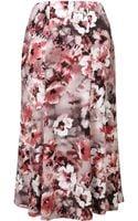 Cc Petite Blossome Print Jersey Skirt - Lyst