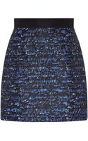 Proenza Schouler Wave Print Mini Skirt - Lyst
