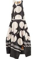 Stella McCartney Adalina Printed Satintwill Dress - Lyst