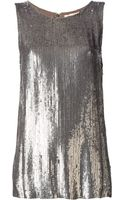 P.a.r.o.s.h. Sequinned Vest - Lyst