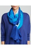 Eileen Fisher Silk Tie Dye Scarf - Lyst
