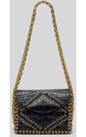 Tory Burch Shoulder Bag  Runway Chain Gusset - Lyst