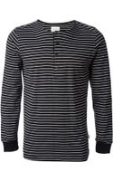 Saturdays Surf Nyc Striped Longsleeve Top - Lyst