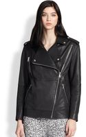 Elizabeth And James Renley Leather Motorcycle Jacket - Lyst