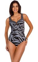 Miraclesuit Mixed Graphic Print One Piece - Lyst