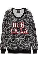 Markus Lupfer Ooh La La Sequined Merino Wool Sweater - Lyst