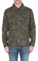 Stussy Camouflage M51 Jacket - Lyst