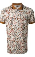 Dolce & Gabbana Card Print Polo Shirt - Lyst