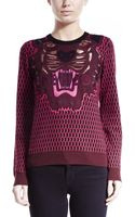 Kenzo Tiger Jacquard Pullover - Lyst