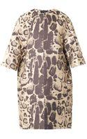 Giambattista Valli Leopardjacquard Coat - Lyst