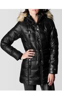 True Religion Long Puffer Womens Coat - Lyst