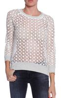 Pam & Gela Lace Top - Lyst