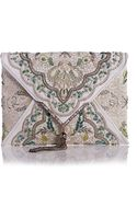Marchesa Elisa Embroidered Irish Lace Clutch Bag - Lyst
