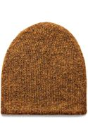 Acne Studios Clifford Beenie Yellow - Lyst