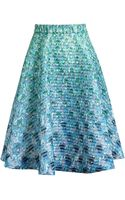 Mary Katrantzou Flared Printed Skirt - Lyst