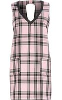 River Island Pink Chelsea Girl Check Shift Dress - Lyst