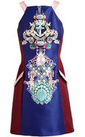 Mary Katrantzou Totem Print Dress - Lyst