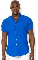 Polo Ralph Lauren Polo Big and Tall Solid Surfwash Oxford Shirt - Lyst