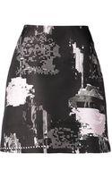 Josh Goot Glitch A-line Skirt - Lyst