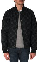 G-star Raw Pharrell Williams Black Print Bomber Jacket - Lyst