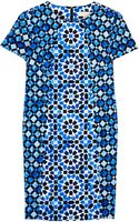 Michael by Michael Kors Kaleidoscope Print Fitted Dress - Lyst