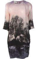 Stella McCartney Tree Print Dress - Lyst