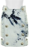Anthony Vaccarello Skirt - Lyst