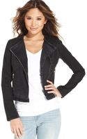 Levi's Juniors Denim Moto Jacket - Lyst