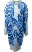 Acne Studios Gia Oversize Sweater Dress - Lyst