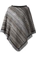 Missoni Knit Poncho - Lyst