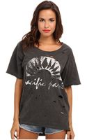 Free People Boyfriend Graphic Tee - Lyst