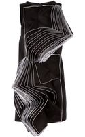 Christopher Kane Pages Crepe Dress - Lyst