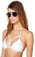 Nasty Gal Tropez Bikini Top White - Lyst