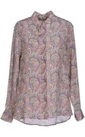 Alexis Mabille Blouse - Lyst