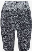 Exclusive For Intermix Printed Silk Long Shorts - Lyst